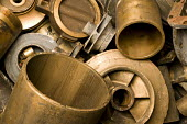 Brass at SITA Lenwade metals processing centre. - Paul Box - 26-03-2009
