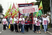 Protest against the privatisation of Bristol Homecare Services, Bristol. - Paul Box - 03-09-2011