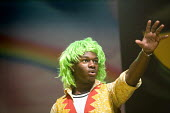 Students perform The Wizard of Oz at Bristol City Academy. - Paul Box - 14-07-2010