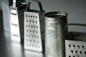 Cheese graters. A home economics class at Clevedon School. - Paul Box - 23-06-2010