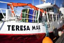 The Teresa Mae, fishing fleet moored in Dingle harbour, Ireland. - Paul Box - 2010,2010s,attraction,boat,boats,box,boxes,coast,coastal,coasts,CONSERVATIVE,Conservative Party,conservatives,dock,docks,dockside,EBF,Economic,Economy,eni,environment,Environmental Issues,eu,Europe,eu