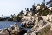 Mansions at Cap-dAil on the French coast next to Monaco. - Paul Box - 28-10-2009