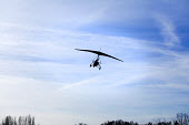 A microlight aircraft flight in Oxfordshire. - Paul Box - 2010s,2012,aeroplane,aeroplanes,air transport,aircraft,aircrafts,airplane,airplanes,aviation,country,countryside,flight,flights,flown,fly,flying,hobbies,hobby,hobbyist,Leisure,LFL,LIFE,microlight,outd