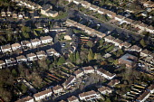 Housing estate in Oxfordshire. - Paul Box - 2010s,2012,Aerial View,cities,city,cityscape,cityscapes,EBF,Economic,Economy,highway,house,houses,housing,Housing Estate,land,outdoors,outside,road,roads,scene,scenes,skyline,skylines,street,streets,u
