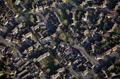 Housing estate in Oxfordshire. - Paul Box - 2010s,2012,Aerial View,cityscape,cityscapes,country,countryside,EBF,Economic,Economy,garden,gardens,highway,house,houses,housing,Housing Estate,land,outdoors,outside,road,roads,rural,scene,scenes,skyl