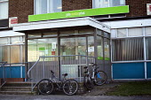Bicycles outside Filton JobCentre Plus. - Paul Box - 16-01-2012