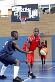 Basketball at Bristol City Academy. - Paul Box - 14-05-2011
