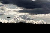 A cross on the Holy Island of Lindisfarne. - Paul Box - 10-08-2008