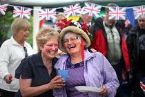 Celebrations of the Queen's Diamond Jubilee, Llanmartin, Wales. - Paul Box - 03-06-2012