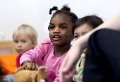 Children at Barton Hill Children's Centre, Bristol. childcare and early learning services for children under 5 years old. - Paul Box - 2010s,2012,BAME,BAMEs,black,BME,bmes,CARE,carer,carers,child,CHILD CARE,CHILDCARE,CHILD-CARE,CHILDHOOD,CHILDMINDING,children,cities,city,class,classroom,classrooms,CRECH,creche,creches,diversity,early