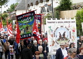 TGWU, Agricultural and Allied workers. Tolpuddle Martys at The Tolpuddle Martyrs festival, Tolpuddle - Paul Box - 2010s,2012,activist,activists,banner,banners,CAMPAIGN,campaigner,campaigners,CAMPAIGNING,CAMPAIGNS,DEMONSTRATING,DEMONSTRATION,DEMONSTRATIONS,festival,FESTIVALS,member,member members,members,PEOPLE,Pr