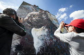 C215, is the moniker of Christian Guemy, a French street artist from Paris, UpFest 2013 Europe's largest live urban arts festival with over 250 of the most groundbreaking graffiti artists from all aro... - Paul Box - 25-05-2013