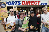 Demonstration against zero hour contracts, sick of your boss campaign Sports Direct sports store, Bristol - Paul Box - 2010s,2013,activist,activists,adolescence,adolescent,adolescents,against,CAMPAIGN,campaigner,campaigners,CAMPAIGNING,CAMPAIGNS,cities,city,contract,contracts,DEMONSTRATING,demonstration,DEMONSTRATIONS