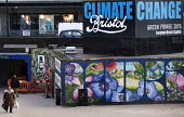 Climate change Billboard, the Bearpit, Bristol, European Green Capital - Paul Box - 2010s,2015,ACE,activist,activists,against,anti,Art Gallery,arts,billboard,billboards,CAMPAIGN,campaigner,campaigners,CAMPAIGNING,CAMPAIGNS,Capital,capitalism,capitalist,cities,city,City centre,Climate