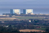 Hinkley Point Nuclear power station, Somerset. - Paul Box - 31-12-2014