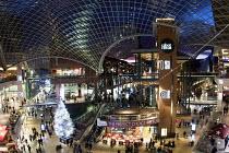 German Christmas market, Cabot Circus shopping centre, Bristol. - Paul Box - 20-12-2014