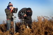 Filming on The Quantock Hills, Somerset. - Paul Box - 18-11-2014