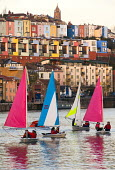 Harbourside sailing school sailing club, Bristol, European Green Capital. - Paul Box - 03-12-2014
