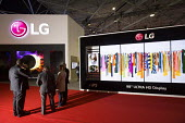 LG stand, Integrated systems Europe 2015, Amsterdam, Holland - Paul Box - 29-08-2014