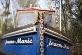 Withdrawn by Luke Jerram, Leigh Woods, Bristol. An art installation of fishing boats that hopes to provoke discussion about climate change, extreme weather, falling fish stocks and our impact on the m... - Paul Box - 2010s,2014,ACE,art,Art Gallery,arts,artwork,artworks,boat,boats,chain,chained,cities,city,culture,disused,estate,estates,exhibition,fine art,fish,fisheries,fishery,FISHES,fishing,Fishing Industry,fish