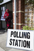 A polling station in Easton, Bristol - Paul Box - 2010s,2015,BAME,BAMEs,Black,BME,bmes,cities,city,communicating,communication,democracy,diversity,election,elections,ethnic,ethnicity,General Election,ISLAM,ISLAMIC,local elections,minorities,minority,