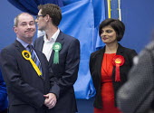 Thangam Debbonaire Labour Candidate wins, Bristol West General Election count, Bristol. - Paul Box - 08-05-2015