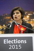 Thangam Debbonaire Labour Candidate wins, Bristol West General Election count, Bristol. - Paul Box - 08-05-2015