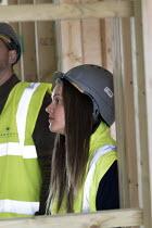 Pupils visit new energy efficient homes, Barratt Homes, Hanham Hall, Bristol - Paul Box - 12-03-2015