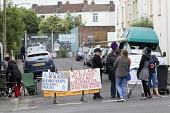 Residents protesting at new resident parking scheme, St Pauls, Bristol - Paul Box - 17-06-2015