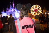 Dismaland a parody of Disneyland theme park by Banksy, Weston Super Mare. A Bemusement Park staffed by morose Dismaland guides who are uninterested in being helpful or remotely informative and Dismal... - Paul Box - 27-08-2015