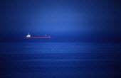 Oil Tanker on route to Milford Haven , Pembrokeshire - Paul Box - 01-12-2003