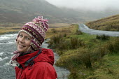 A happy hiker on a bleak day in the lake district - Paul Box - 20-01-2004