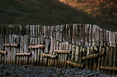 Sea defences Porlock Weir in Somerset - Paul Box - 20-01-2004