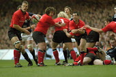 Wales against Scotland in the 5 nations rugby union tournament at the Millennium Stadium Cardiff, Wales - Paul Box - 14-02-2004