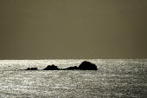 A rock in the sea Pembrokeshire. West Wales - Paul Box - 01-12-2003