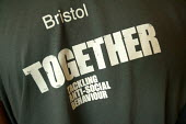 Bristol tackling crime together at the launch of the ASBO scheme, Bristol - Paul Box - 2000s,2004,anti social behavior,anti social behaviour,anti socialanti social behavior,antisocial,antisocial behaviour order,asbo,asbos,behavior,behaviour,cities,city,CLJ crime,crime,launch,prevention,