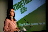 The rt Hon. Caroline Flint MP at the launch of the ASBO scheme, Bristol - Paul Box - ,2000s,2004,anti social behavior,anti social behaviour,anti socialanti social behavior,antisocial,antisocial behaviour order,ASBO,asbos,cities,city,CLJ crime,launch,scheme,urban