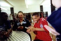 School children. Bristol - Paul Box - 22-07-2004