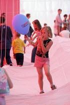 International kite festival, Bristol . Inside the worlds largest kite. - Paul Box - 05-09-2004