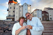 A middle aged couple who have moved into luxury coastal development, Portbury , Nr Bristol. - Paul Box - 01-09-2004