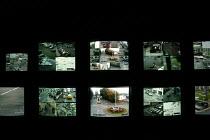 The CCTV control centre, Wells Somerset. - Paul Box - 20-11-2004