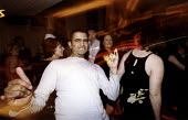 Office workers dance at their christmas do. - Paul Box - 01-11-2004