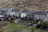 Welsh Valley village of Glyn Corrwg in the Afan valley. South Wales - Paul Box - 20-03-2005