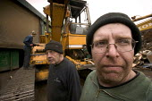 Workers at a Scrap yard in North Wales - Paul Box - 20-03-2005
