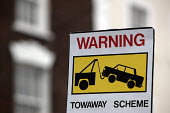 Warning sign. Tow away scheme in operation. - Paul Box - 24-03-2005