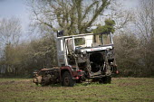 Abandoned lorry left in a field, south west Wales - Paul Box - 20-04-2005