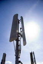 A mobile phone mast. - Paul Box - 20-03-2004