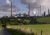 The Pembroke oil refinery, Rhoscrowther, Milford Haven, Pembrokeshire - Paul Box - 05-12-2005