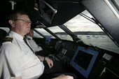 The captain of the Red Funnel ferry on his way to Cowes. - Paul Box - 05-12-2005