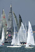 Yachts at Cowes week, Isle of Wight - Paul Box - 05-12-2005